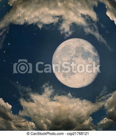 luna piena - csp21768121