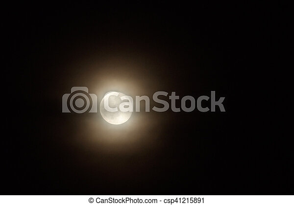 luna piena - csp41215891