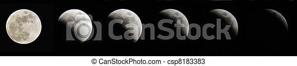 Lunar Eclipse - csp8183383