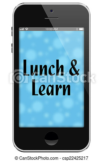 Lunch and Learn - csp22425217