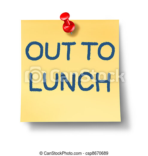 lunch, poza - csp8670689
