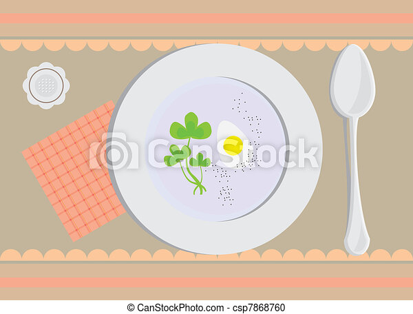 lunch time - csp7868760