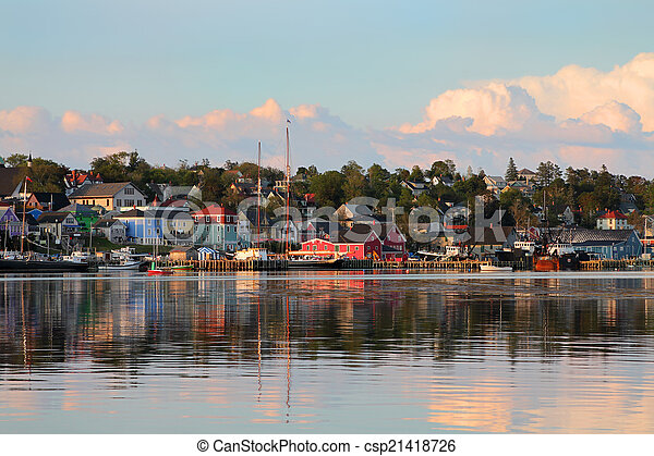 Lunenburg, Nova Scotia - csp21418726