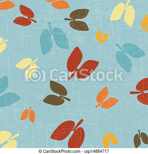 Lung icon abstract and background - csp14884717