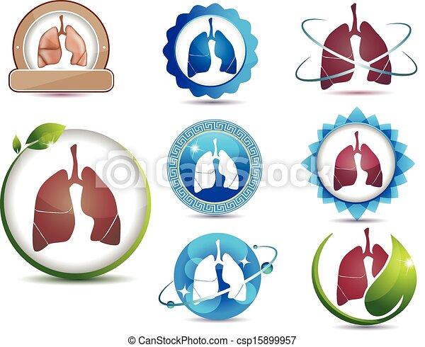 Lungs set - csp15899957