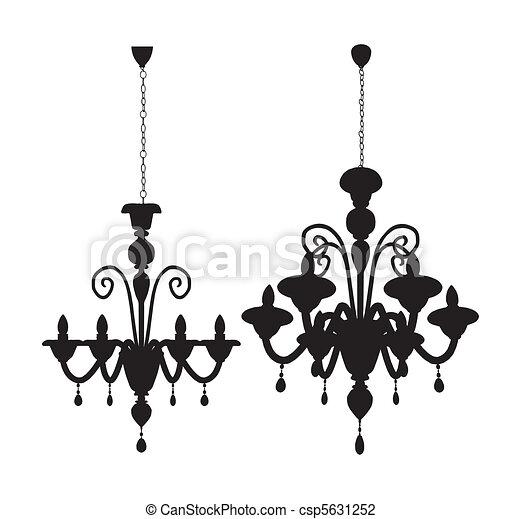 Luster chandelier vector vector illustration search clipart luster chandelier vector aloadofball Gallery