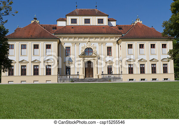 East Side München lustheim castle east side outside of munich germany stock photo search photographs and