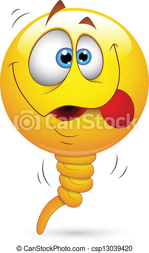 Lustiges, balloon, smiley gesicht. Lustiges, kunst, abstrakt, smiley ...