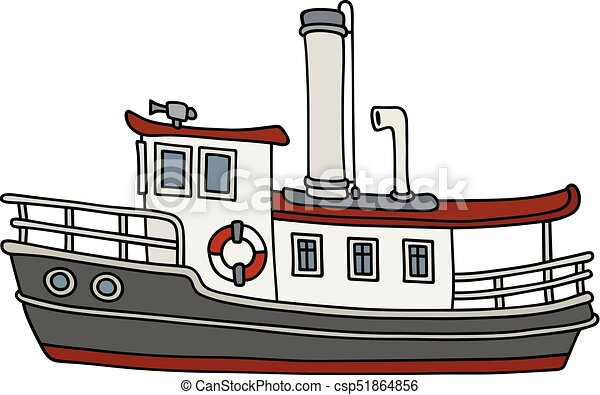 4570book Clipart Dampfschiff In Pack 4551