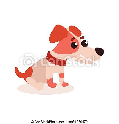 Lustiges russell sitzen boden zeichen hund abbildung for Boden clipart