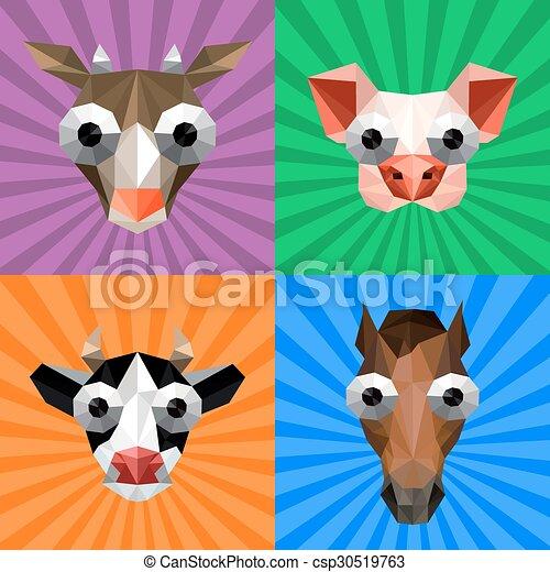 Hintergrunde lustige tiere
