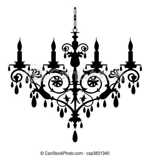 lustre, vecteur, illustration - csp3831340