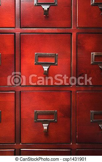 Lustrous Wooden Cabinet - csp1431901