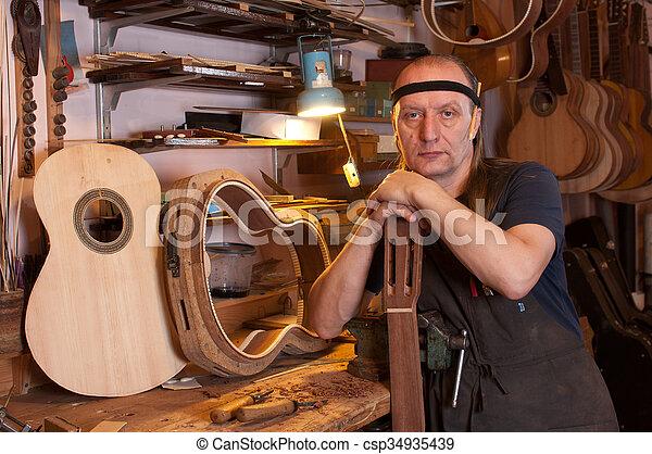 luthier - csp34935439