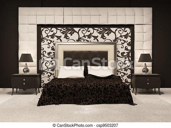 Luxe hotel pattern moderne royal luxutiois lit for Lit de luxe hotel