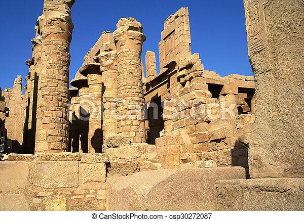 Luxor egipto antiguo arquitectura karnak templo for Arquitectura de egipto
