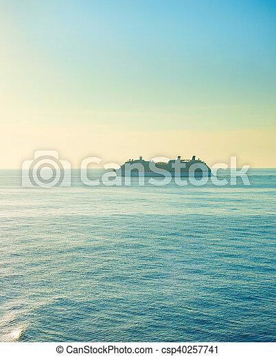 Luxur sea cruise - csp40257741