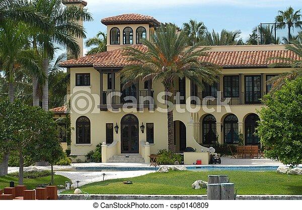 Luxurious mansion - csp0140809