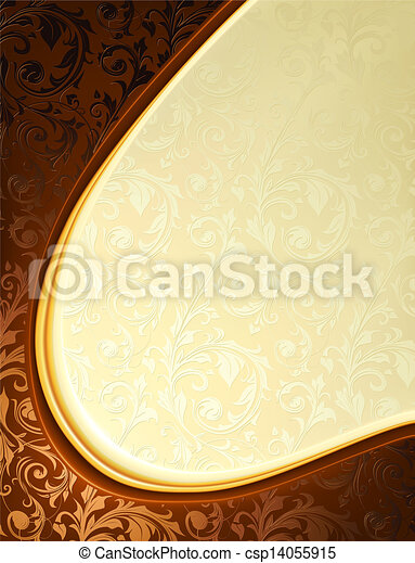 Luxury Background, vector - csp14055915