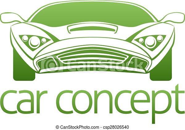Luxury car concept - csp28026540