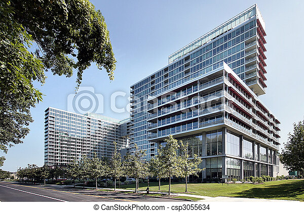 Luxury condominium complex - csp3055634