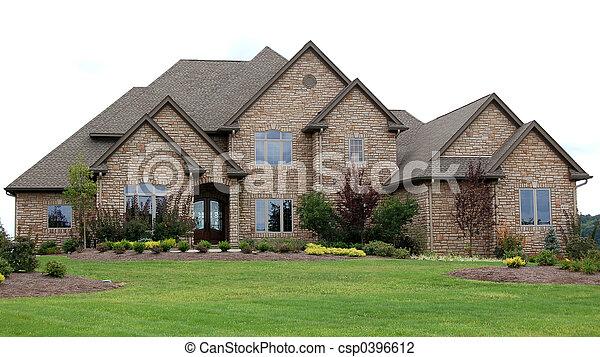 Luxury conutry home - csp0396612