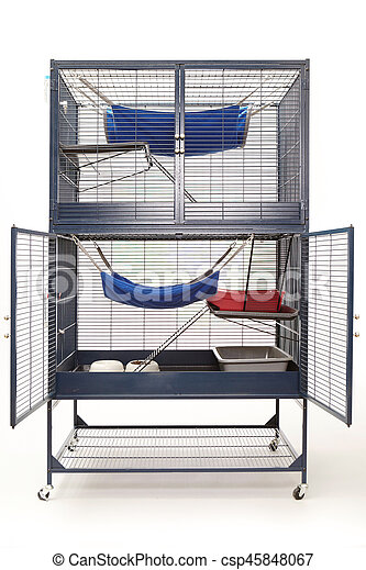 Luxury ferret cage for perfect living