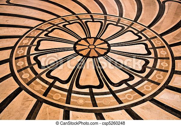 Luxury floor finishing - csp5260248