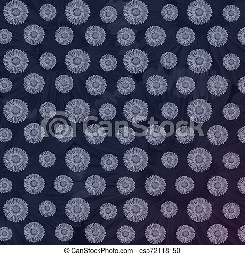 Luxury Floral Background With Light Primula Flowers