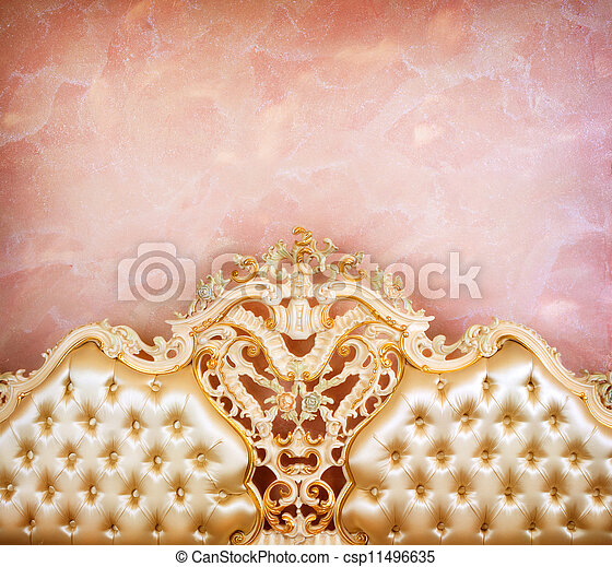 Luxury Furniture Detail. Interior - csp11496635
