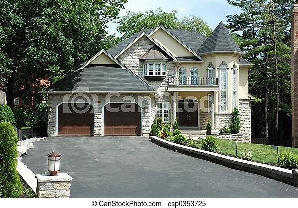Luxury Home - csp0353725