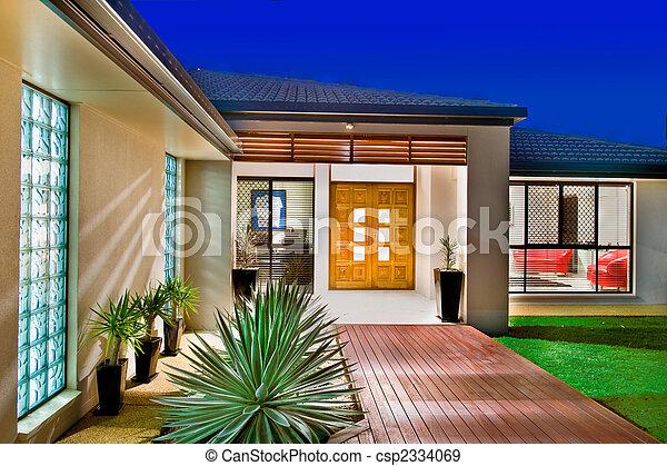 Luxury home - csp2334069