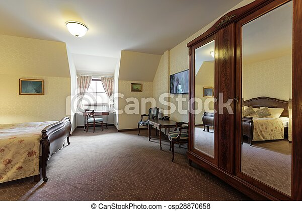 Luxury hotel apartment interior - csp28870658