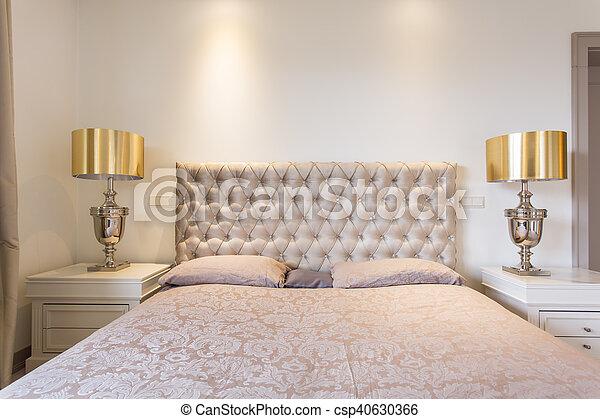 Luxury in bedroom - csp40630366