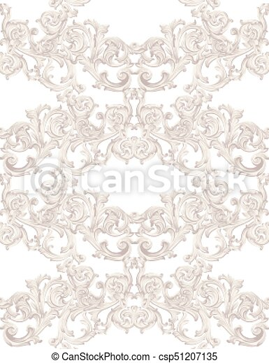 Luxury invitation card vector royal victorian pattern vectors luxury invitation card vector royal victorian pattern ornament rich rococo backgrounds stopboris Image collections