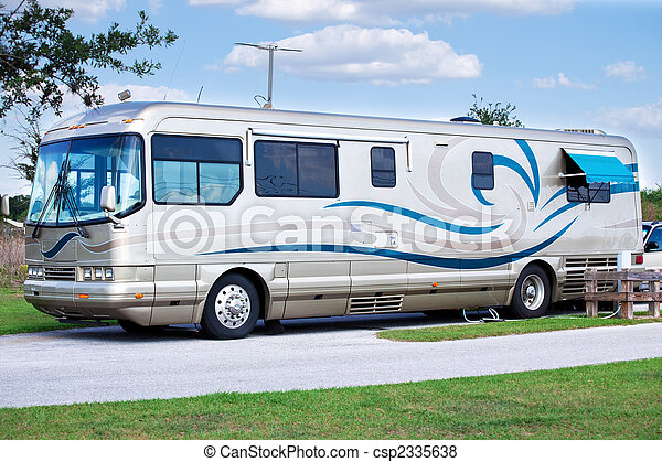 Luxury Motor Home - csp2335638