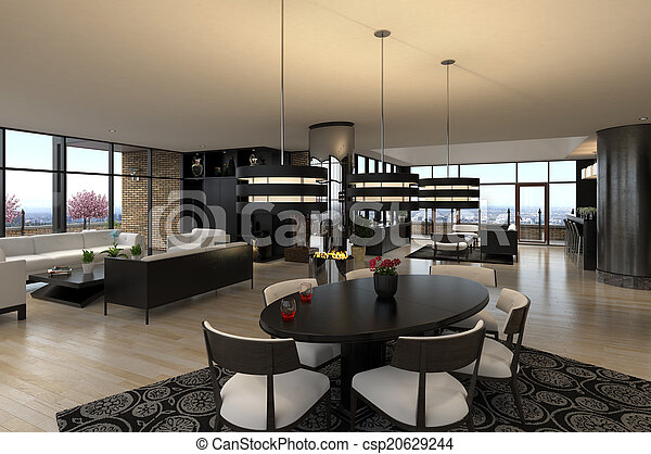 Luxury Penthouse   Csp20629244