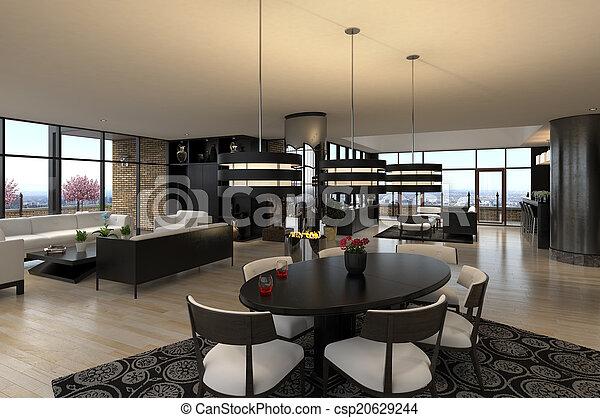 Luxury Penthouse   Csp20629244