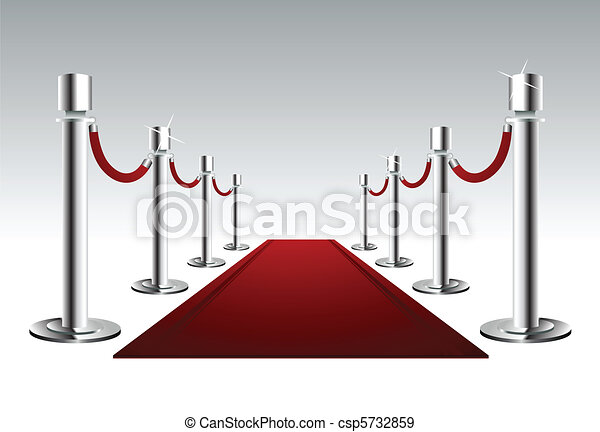 Luxury Red Carpet - csp5732859