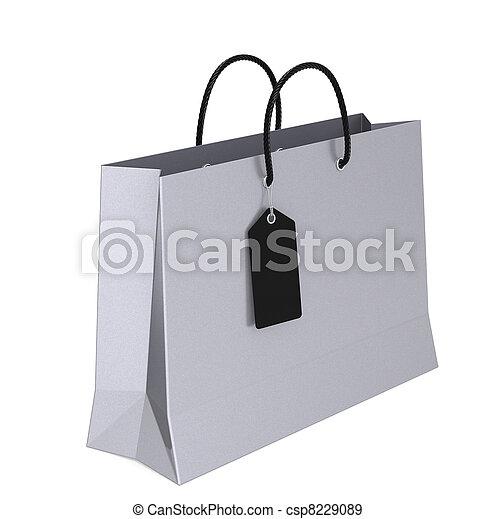 Luxury Shopping Bag  - csp8229089