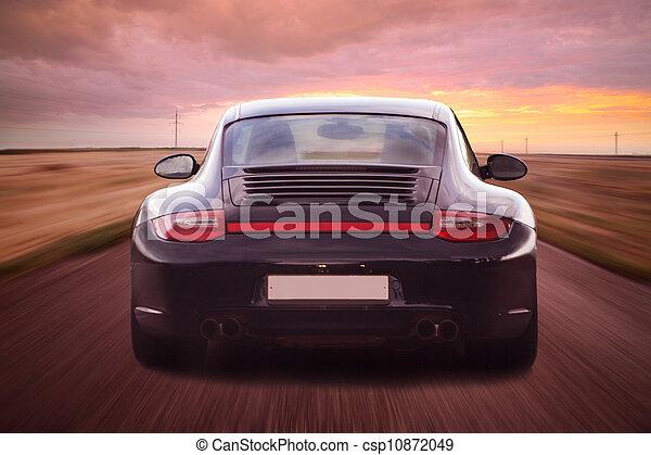luxury sports car - csp10872049