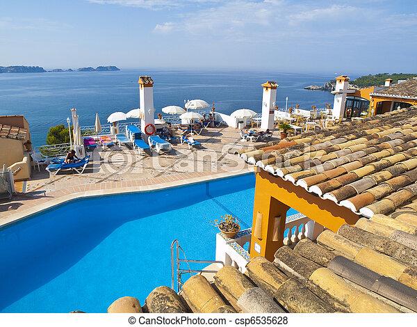 Luxury Villa in Mallorca, Spain - csp6535628