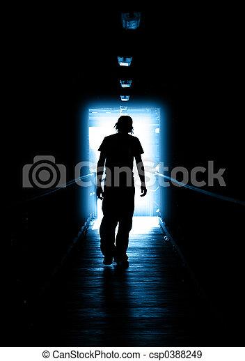 luz azul - csp0388249