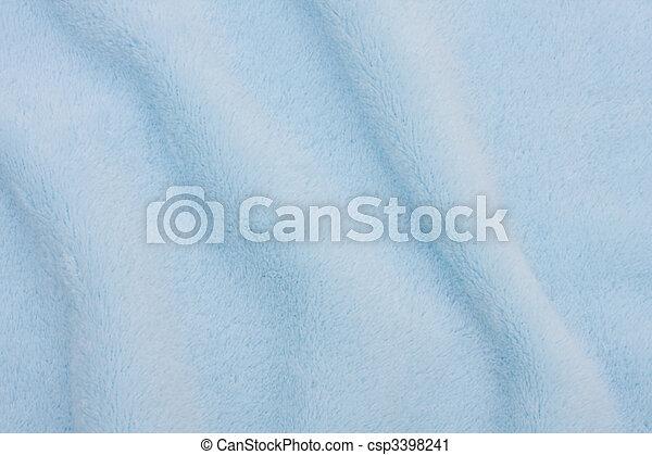 Un fondo de textura azul claro, fondo de textura suave - csp3398241