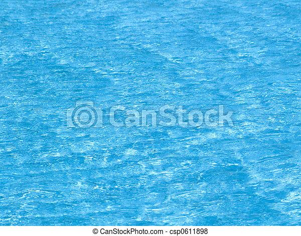 luz azul - csp0611898