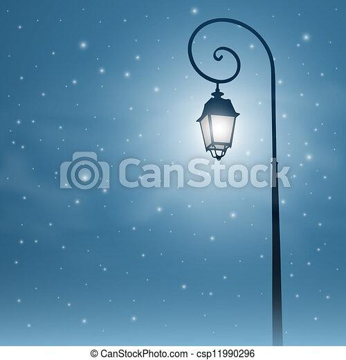 luz, calle - csp11990296