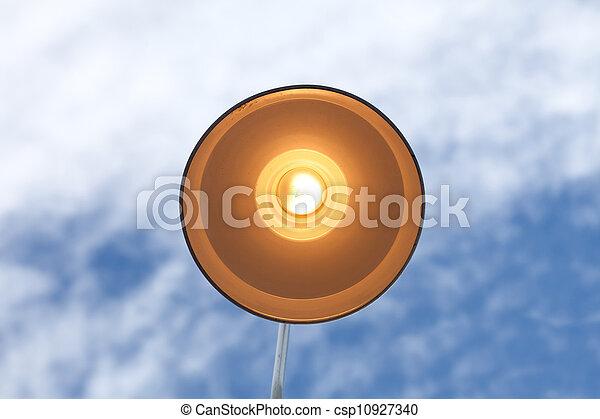 luz, calle - csp10927340