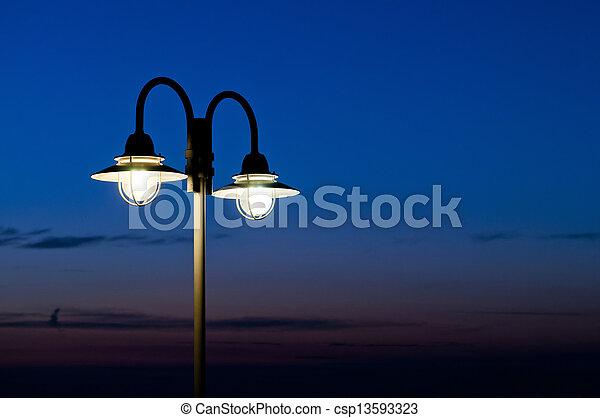 luz, calle - csp13593323