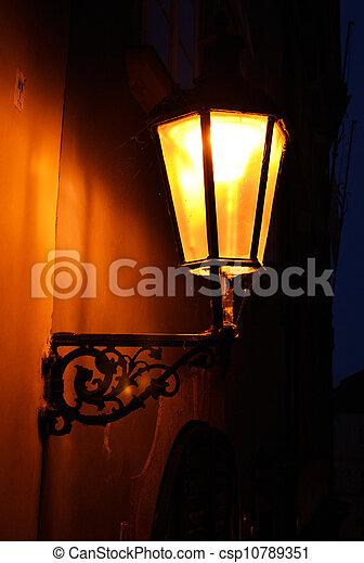 luz, calle, pasado de moda - csp10789351