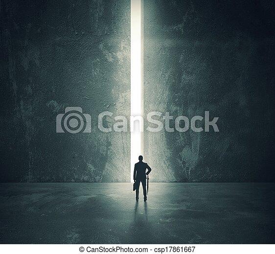 luz, campeonato abierto de puerta - csp17861667